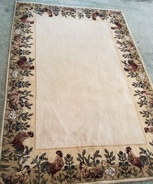 Rooster, Hens & Chicks Rug for Sale in Huntington, IN