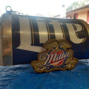 Miller Lite Collectable Hanging Light for Sale in Corpus Christi, TX