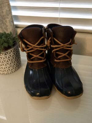 Sperry rain ☔️ boots SIZE 5 LIKE NEW for Sale in Los Angeles, CA