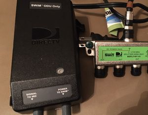 DirecTV SWiM ODU power inserter & 4-way Splitter. Used. Fully functional. for Sale in Portland, TN