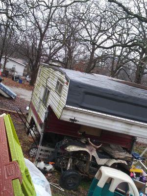 Truckbed camper for Sale in Galena, KS