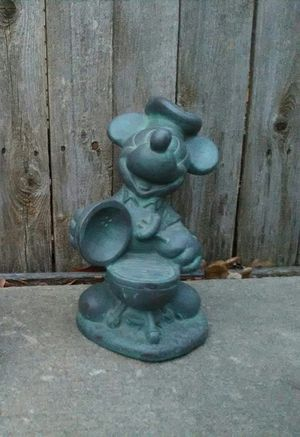 """11"""" Disney Mickey Mouse Key Hider Statue 1997 Engraved Collectible for Sale in Oklahoma City, OK"""