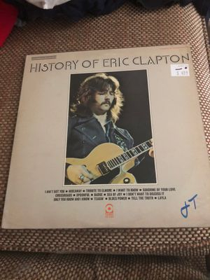 History of Eric Clapton Vinyl for Sale in Amarillo, TX
