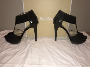 Michael Kors black suede stilettos size 8.5 for Sale in Smyrna, GA