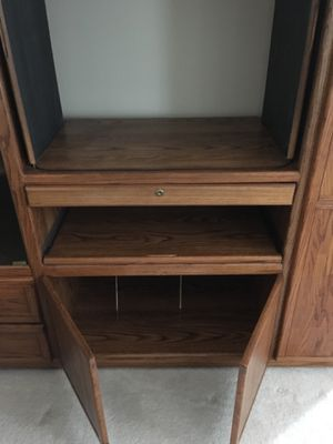 Solid Oak Cabinet for Sale in NO POTOMAC, MD