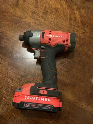 Craftsman 20v drill for Sale in Concord, VA