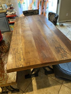 Rustic kitchen table for Sale in Phoenix, AZ