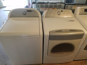 Whirlpool washer & electric dryer set for Sale in Houston, TX