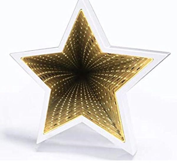 Holiday Versatile Star Mirror Lamp