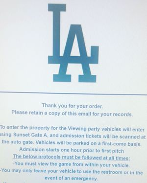 World Series viewing party GAME 5 for Sale in Montebello, CA