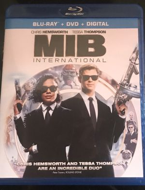 Men in Black International Blu-ray + DVD Combo Pack for Sale in Wadsworth, OH