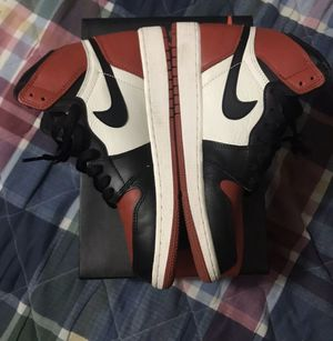 Air Jordan 1 bred Toe for Sale in Clinton, MD