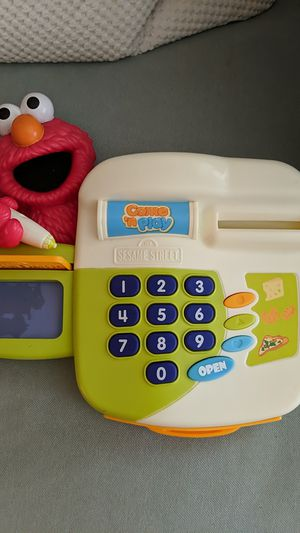 Elmo Cash Register toy for Sale in Portland, OR