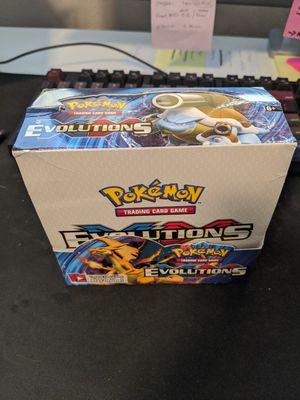 XY Evolutions Booster Box for Sale in Rocklin, CA