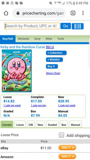 Wii U Nintendo video game for Sale in Marysville, WA