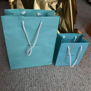 Tiffany And Co Shopping Bag Authentic Large Size for Sale in Riverside, CA