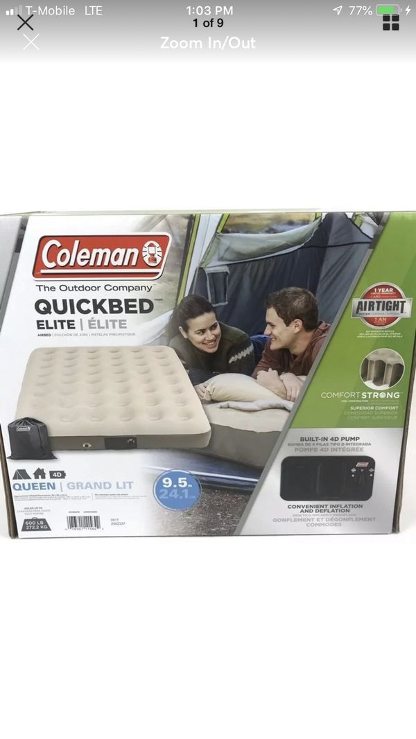 Coleman QuickBed Elite Extra Queen