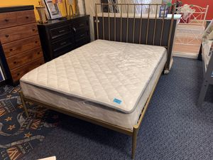 New Gold Full Size Bed Frame for Sale in Virginia Beach, VA