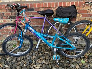 """Trek MT60 20"""" Mountain bike kids Good condition for Sale in Gladstone, OR"""