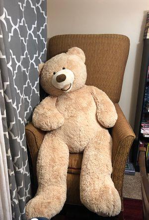Four foot stuffed teddy bear for Sale in Escondido, CA