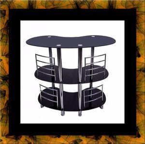 12911 bar glass table for Sale in Manassas, VA