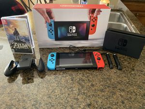 Nintendo Switch with Breath of the Wild for Sale in Fresno, CA