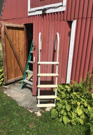Metal pool ladder for Sale in Pottsville, PA