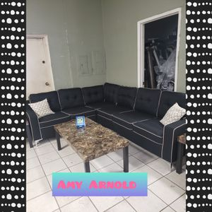 Sectional Sofa with Coffee Tables for Sale in Peoria, AZ