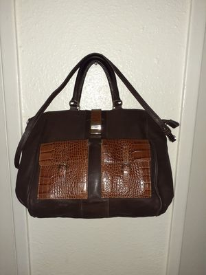 via repubblica pebbled tote satchel doctor bag for Sale in Houston, TX