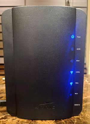 Arris DG1670A Cable Modem 5ghz (usb port for Sale in Arlington, TX