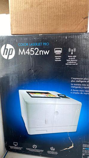 HP Color Laserjet Pro M452 Office Printer for Sale in Fontana, CA