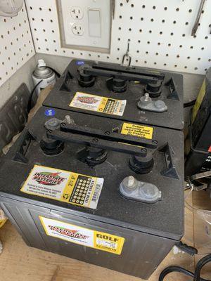 6v Golf Cart Batteries - SALE PENDING for Sale in Kent, WA
