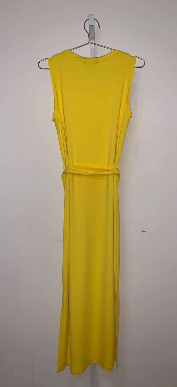 Banana Republic | Yellow Maxi tie Dress