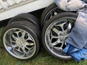 22 inch rims for Sale in Chester, VA