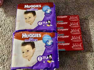 Huggies diapers size 3 for Sale in Vancouver, WA