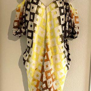 NWOT silk Rachel Rachel Roy bohemian style dress. Sz small for Sale in Las Vegas, NV