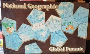 Vintage National Geographic Global Pursuit Game Educational Geography Maps Like June's Online Consignment Shop on Facebook for Sale in Neenah, WI