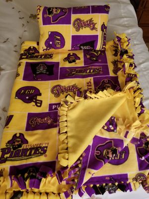 ECU Pirates Blanket and Pillow for Sale in Derwood, MD