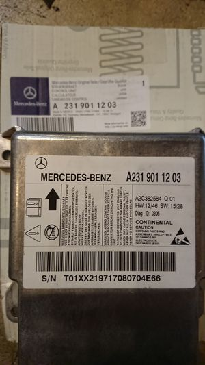 MERCEDES AIRBAG MODULE for Sale in Chicago, IL