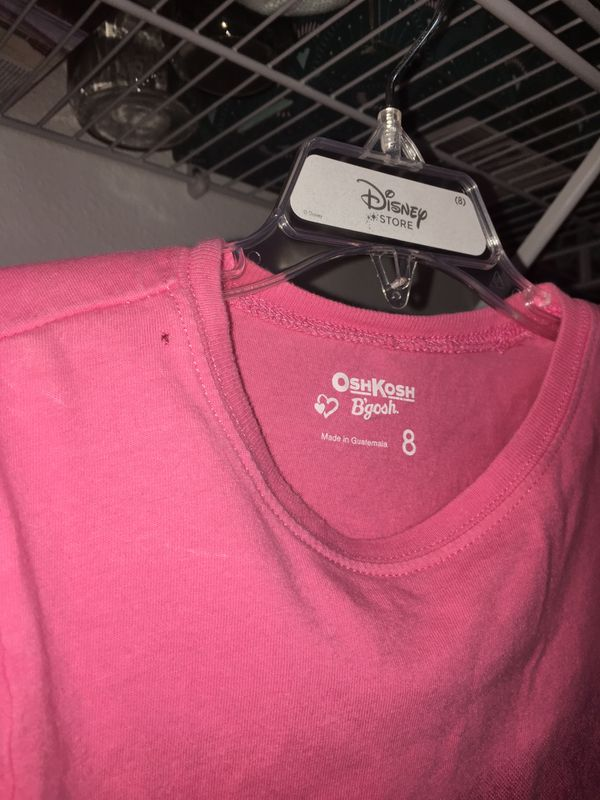 Oshkosh pink graphic t-shirt