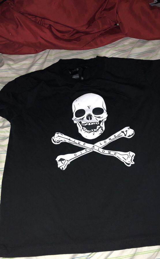 Vlone bones shirt