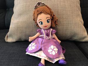 Sofia mini stuffed doll for Sale in San Juan Capistrano, CA