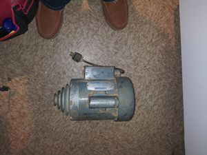 Elec motor 1/2hp leeson for Sale in Springfield, MA