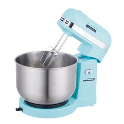 Brentwood Mixer 3Qt Retro Stand Stainless Steel Bowl 5 Speed Blue Cake Tortas Batidora Masa SM-1162BL for Sale in Miami,  FL