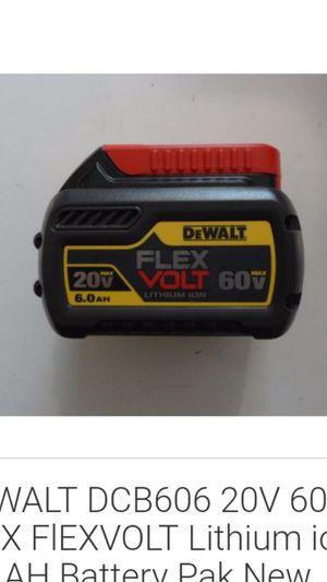 DeWalt battery. Brand new for Sale in San Antonio, TX