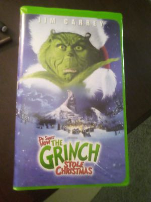 The Grinch stole christmas VHS for Sale in Port Orchard, WA