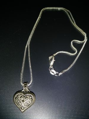 ** Antique 925 Silver Heart Locket ** for Sale in Cape Coral, FL
