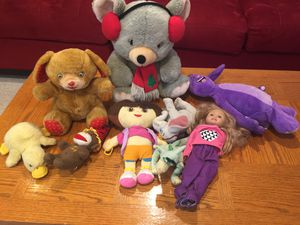 Toys Stuffed animals for Sale in Dearborn Heights, MI