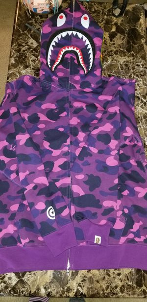 Bape hoodie Size Medium 100 % Authentic for Sale in Houston, TX