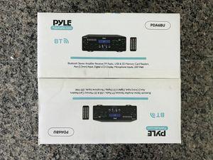 PYLE Bluetooth Stereo Amplifier Receiver,200 Watt for Sale in Orlando, FL